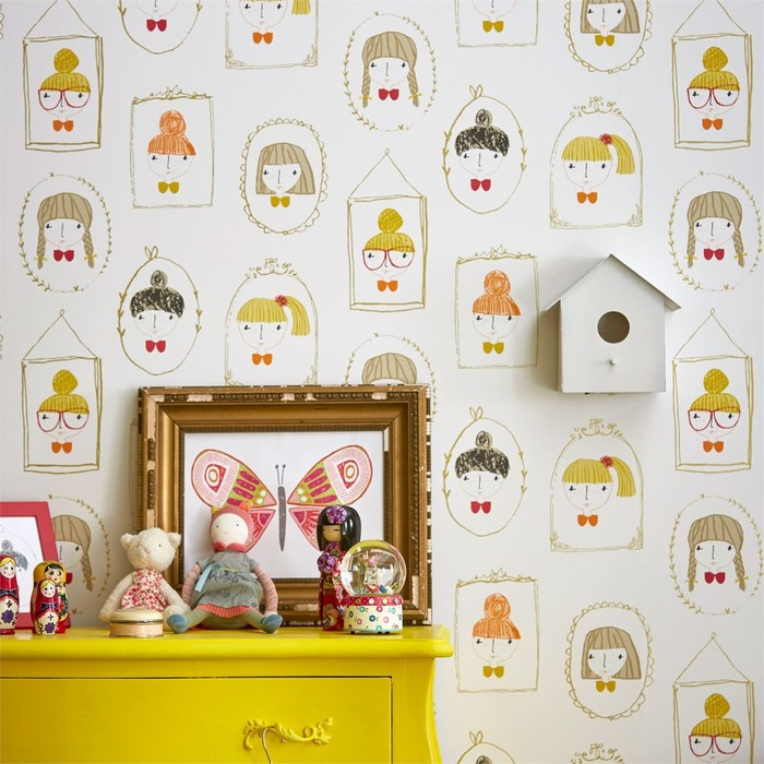 Big product scion guess who hello dolly wallpaper 1