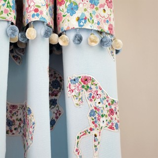 Small product pretty ponies fb curtain detail med